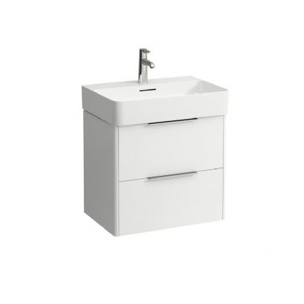 810283 - Laufen Val 600mm x 420mm Washbasin & Base Vanity Unit - 8.1028.3